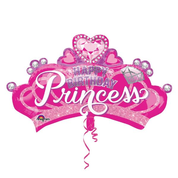 Princess Crown  & Gem SuperShape™